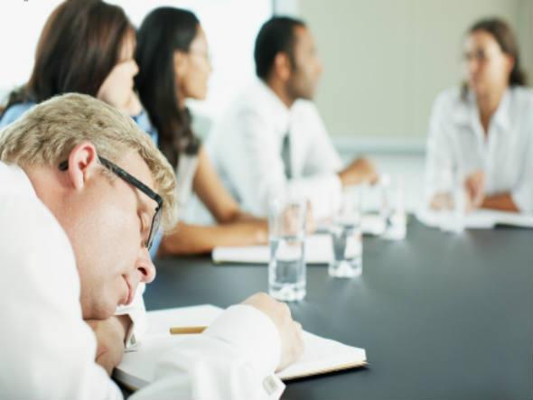 Reuniões improdutivas